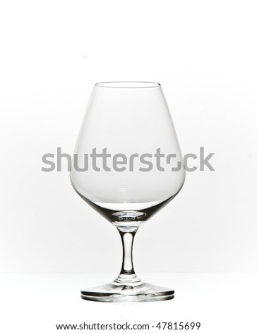 elegant cognac brandy glass