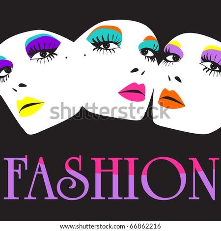 Elegant fashion illustration