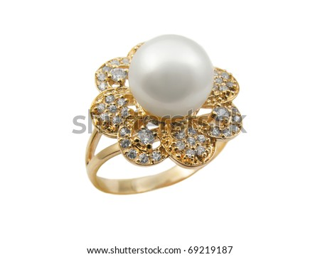 Elegant female jewelry rings with jewel stone