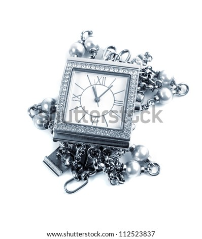 elegant female watch.toned picture