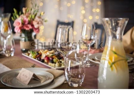 Elegant Food Plate #1302203473