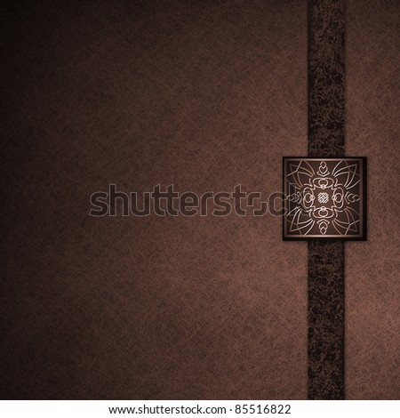 Elegant formal deep red background parchment with fancy seal and black ribbon with grunge texture, has copy space, dark shadows, soft lighting