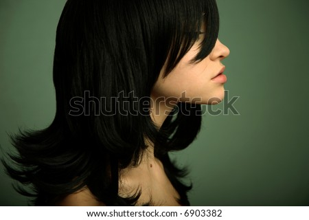 Black Hair With Highlights Styles. hot Highlights On Black Hair.