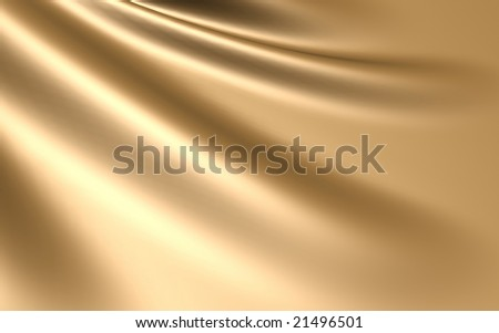 Elegant gold silk satin background