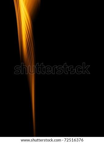 elegant gold smoke