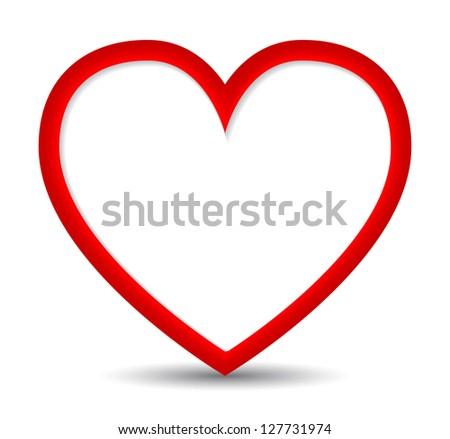elegant heart background