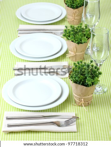 elegant holiday table setting