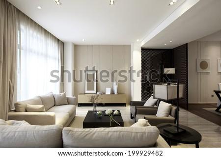 Elegant house interiors #199929482