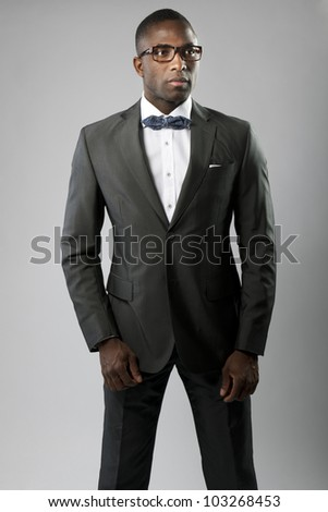 Elegant man or businessman