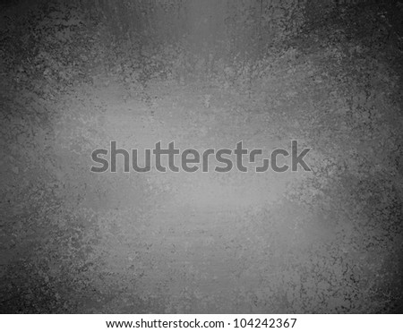 elegant monochrome black and white background with abstract center spotlight, gray black background elegant  vintage grunge background texture layout