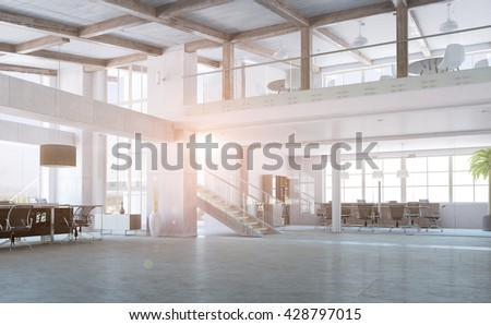 Elegant office interior #428797015