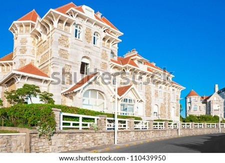 Elegant old house in Biarritz, France