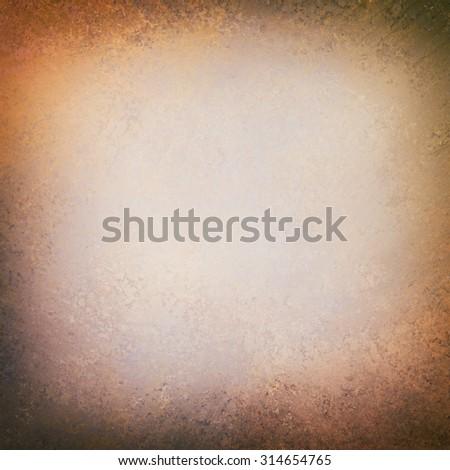 elegant old white paper background texture paper, dark rustic grunge border paint design