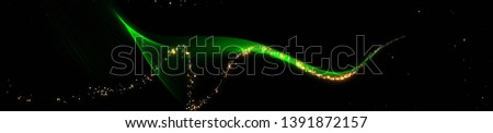 Elegant Particles Background. Glitter Particles. Widescreen