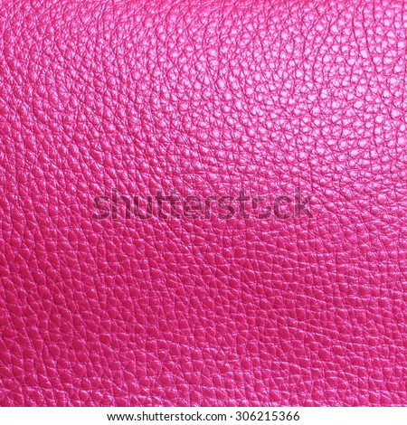 Elegant texture of pink leather surface from top view