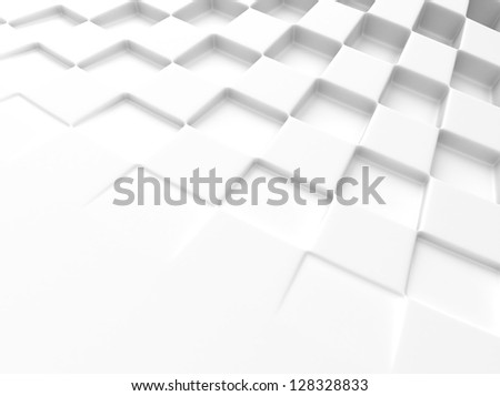 Elegant white background with chess pattern and space for text