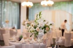 elegantly decorated restaurant for celebrating weddings, style, design, Lviv