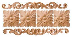 element woodcarving. furniture in classic style. white tree with gold trim. patina. carving. small depth of field. luxury furniture. isolated on the white background