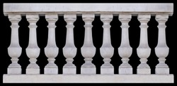 Elements of architectural decorations of buildings, balconies and windows, arches and balustrade, gypsum stucco. On the streets in Catalonia, public places.