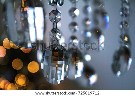 elements of crystal chandelier / Crystal Chandelier #725019712