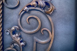 Elements of modern processing of metal gates, forged products