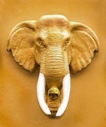 Elephant Head Statue