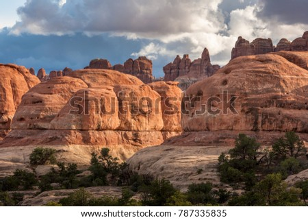 Elephant Hill at CanyonLands NP, UT, USA