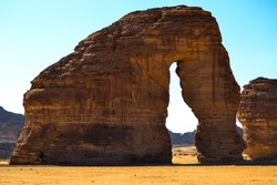 Elephant Rock  Madin Salih,-Al Ula Madina Region  -Saudi Arabia
