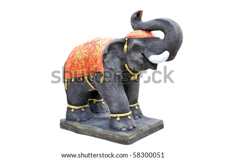 elephant statue in asia