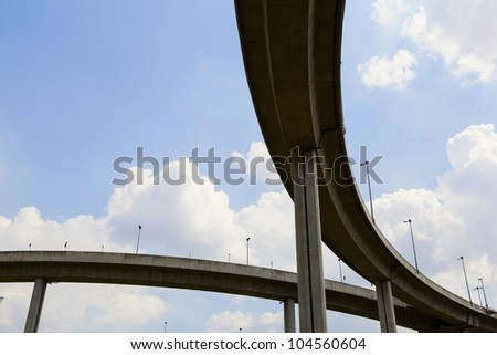 elevated express way