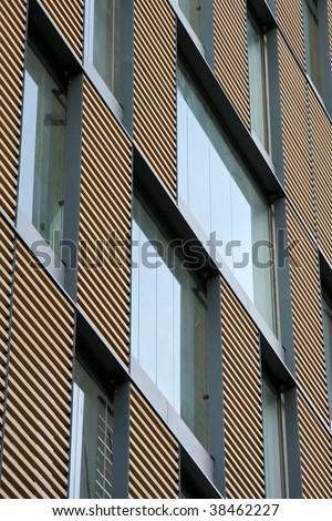modern buildings elevation