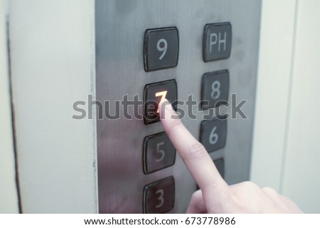 Elevator buttons #673778986