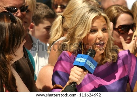 Elisabeth Hasselbeck at the award ceremony honoring Barbara Walters with a star on the Hollywood Walk of Fame. Hollywood Blvd., Hollywood, CA. 06-14-07