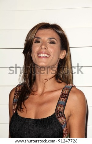 Elisabetta Canalis at Rodeo Drive Walk Of Style Honoring Iman And Missoni, Rodeo Drive, Beverly Hills, CA 10-23-11