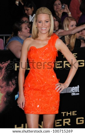 """Elizabeth Banks at """"The Hunger Games"""" Los Angeles Premiere, Nokia Theater, Los Angeles, CA 03-12-12"""