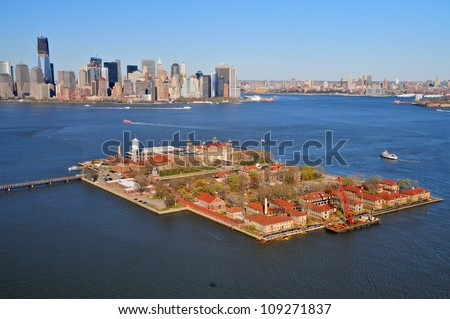 Ellis Island & Downtown Manhattan, New York