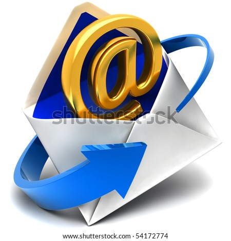 Email sign & envelope