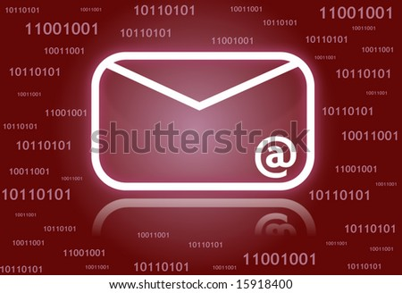Email Symbol Background