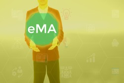 eMarketing Association - business and technology  concept