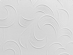 emboss graphic on white background, white pattern emboss background