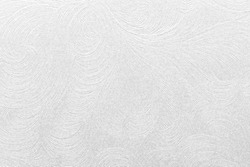 Embossed white paper with floral pattern. High quality texture in extremely high resolution.