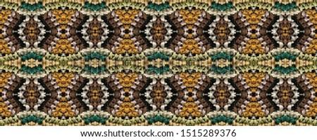 Embroidered Seamless Ethnic ornament. Cross stitch Diverse on Black Background. Russian Rug. Aztec Ornament. Bohemian Yarn. Uzbek Retro Pattern.
