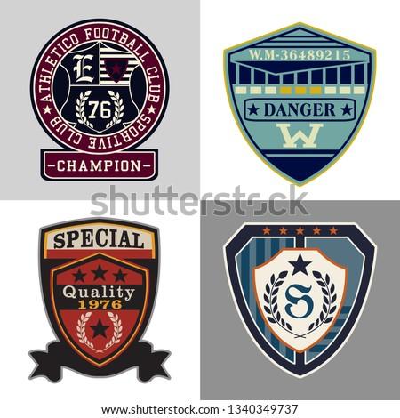 embroidery emblem, patch