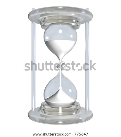 Embroil time - stock photo