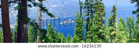 emerald bay california lake tahow
