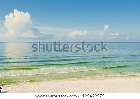 Emerald Coast Beach Florida