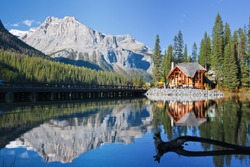 Emerald Lake, Alberta, Canadian Rockies