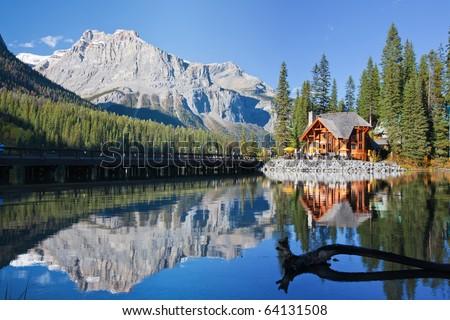 Emerald Lake, Alberta, Canadian Rockies #64131508
