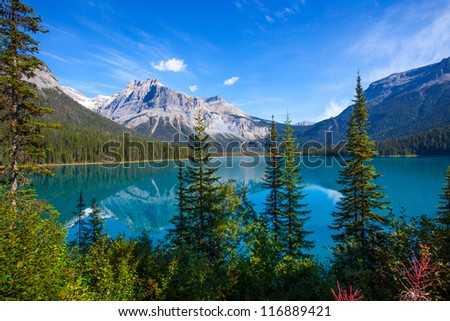 Emerald Lake Banff National Park Canada