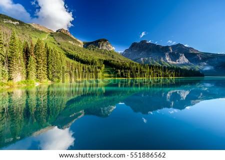 Emerald Lake, Canada #551886562